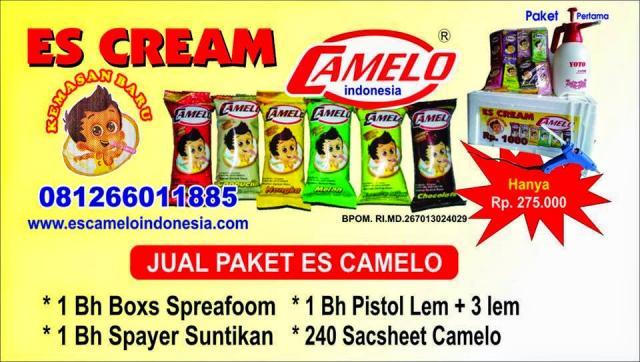 Foto: Es Camelo Indonesia Laris