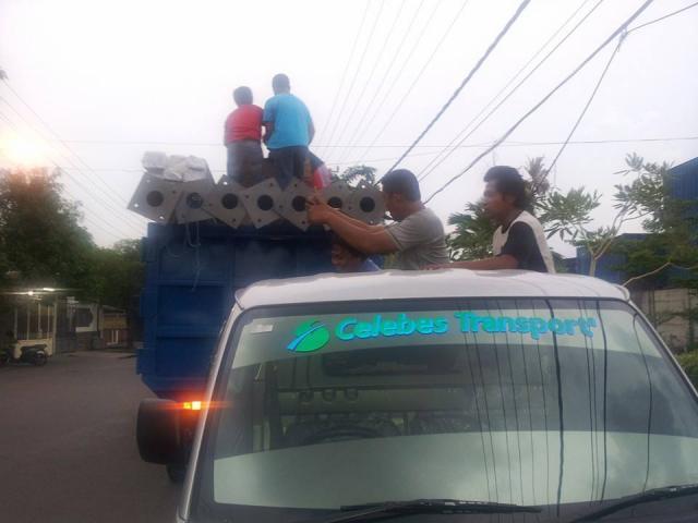 Foto: Expedisi Trucking Makassar Sulawesi