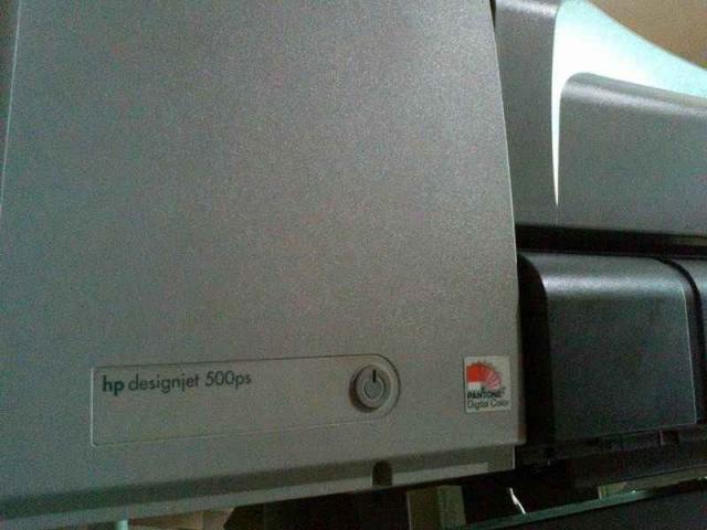 Foto: Jual Plotter Murah Siap Pakai Hp Designjet 500ps