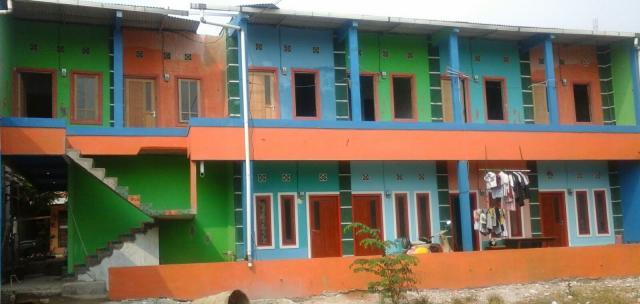 Foto: Kontrakan 2 Lantai Bangunan Baru Bebas Banjir