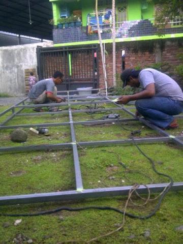 Foto: Harga Pasang Canopy Pagar Surabaya