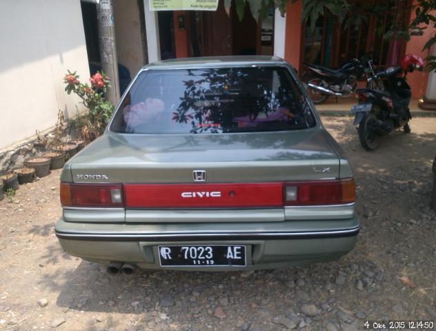 Foto: Dijual Mobil Honda Grand Civic Lx 89