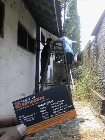Foto: Jasa Pembuatan Kanopi, Pagar, Pintu