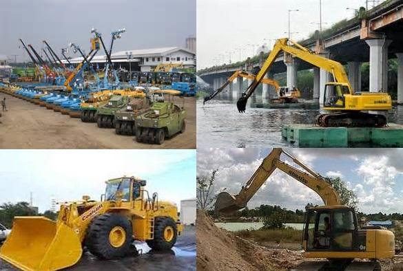 Foto: Rental Alat Berat Pertambangan Dan Pembangunan