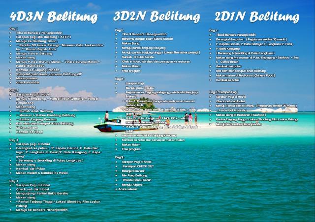 Foto: Bangka Belitung Tour Super Murah