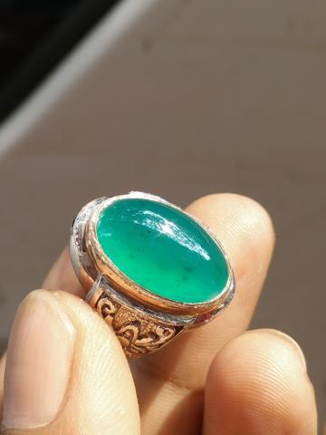 Foto: Cinci Batu Bacan Doko Super Ring Perak