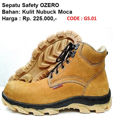 Foto: Pabrik Sepatu Safety Ozero
