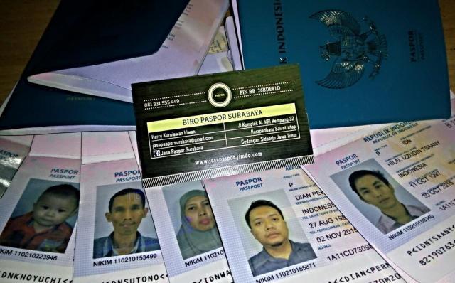 Foto: Jasa Paspor Surabaya