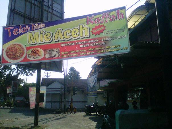 Foto: Mie Aceh Kaffah Cirebon