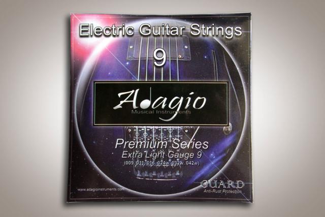 Foto: Jual Senar Gitar Adagio Premium Electric Guitar Strings 9 Anti Rust
