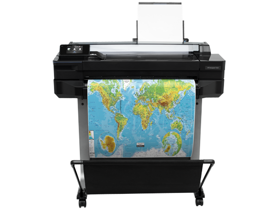 Foto: Plotter HP Designjet T520 24in Eprinter