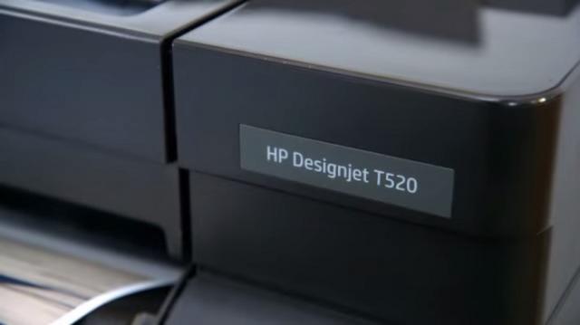 Foto: Plotter HP Designjet T520 24in Eprinter