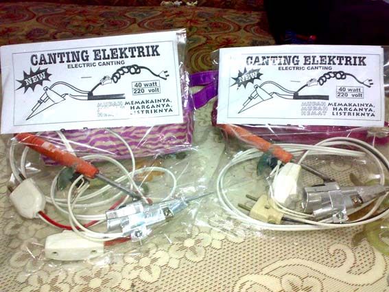 Foto: Canting Listrik Surabaya
