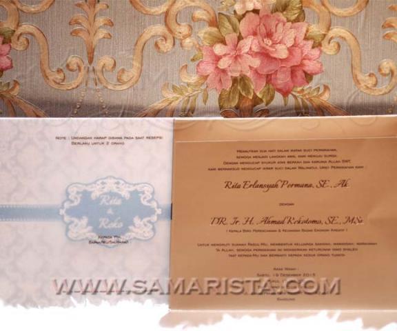 Foto: Kartu Undangan Pernikahan Di Bandung