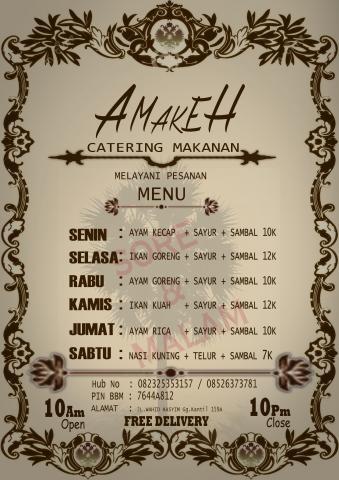 Foto: Layanan Catering Amakeh Yogyakarta (sleman)