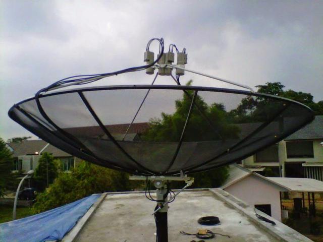 Foto: Jasa Instalasi Pemasangan Parabola Venus Kos ~ Hotel ~ Home Dll Bergaransi