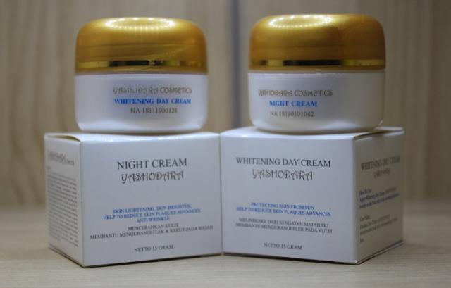 Foto: Produk Cream Pemutih Wajah Dengan Triple Action
