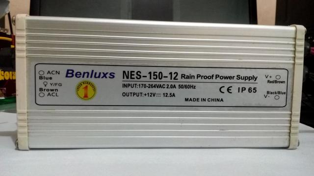 Foto: Benluxs Rain Proof Power Supply Nes-150-12