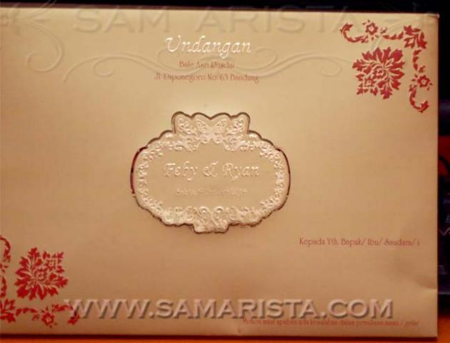 Foto: Wedding Invitation Card Samarista Bandung
