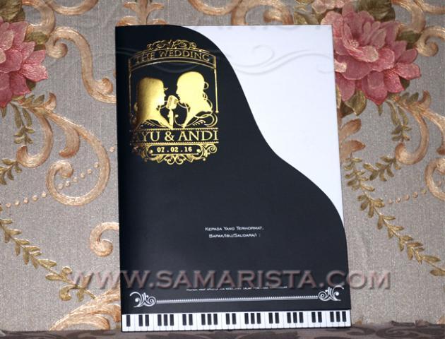 Foto: Jasa Cetak Kartu Undangan Soft Hard Cover Berbagai Desain