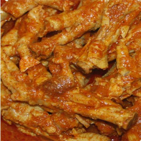 Foto: Ceker Ranjau Spesial Ceker Ayam