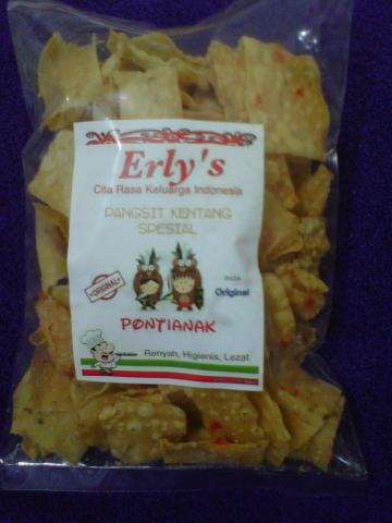 Foto: Erly's Pangsit Kentang Spesial Oleh-oleh Khas Pontianak