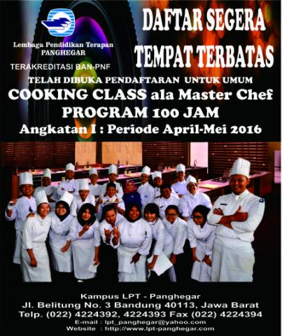 Foto: Cooking Class Ala Master Chef