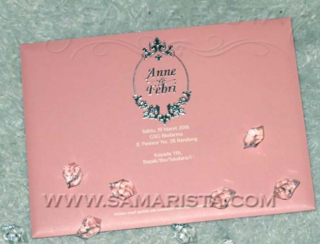 Foto: Samarista Wedding Invitation Card Bandung