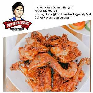 Foto: Ayam Goreng Haryati Yogyakarta, Lezat, Nikmat, Mantap