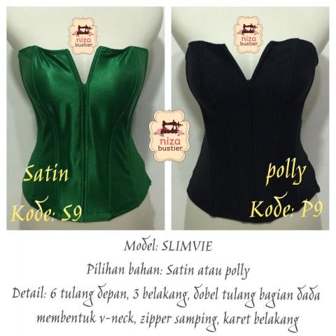 Foto: Bustier Front Zipper Busui Friendly Polyester