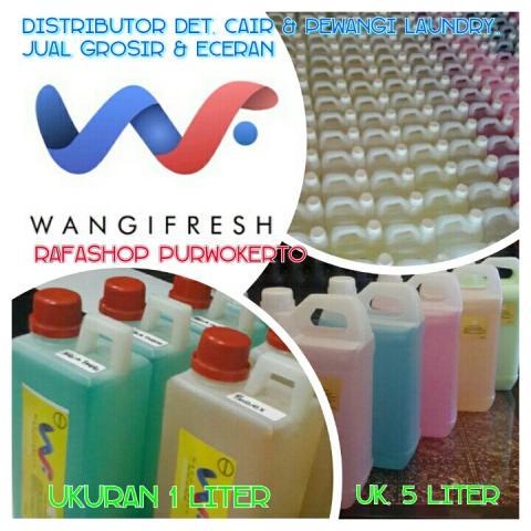 Foto: Dibuka Agen / Supplier Wangi Fresh Chemical Laundry Di Purwokerto