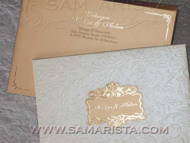 Foto: Kartu Undangan Pernikahan Samarista Bandung