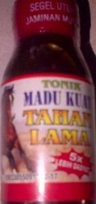 Foto: Madu Kuat Tahan Lama