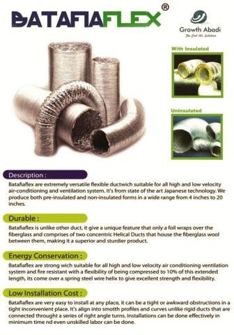Foto: Flexible Ducting Batafiaflex
