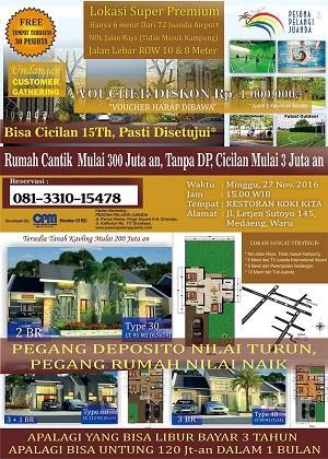 Foto: Rumah Murah Sidoarjo, Tanpa DP