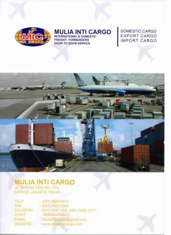 Foto: Jasa Pengiriman Barang Import & Domestik Antar Pulau