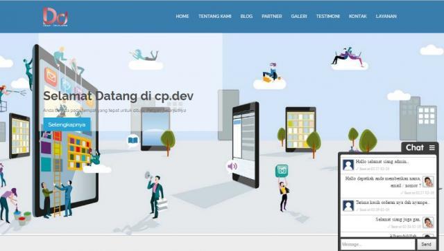Foto: Website Company Profile (inc. Domain .com   Hosting 500mb) Diskon 70%