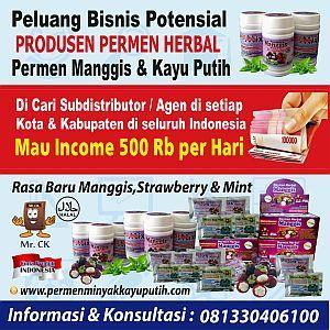 Foto: Dicari Agen Permen Herbal Manggis Dan Strawberry