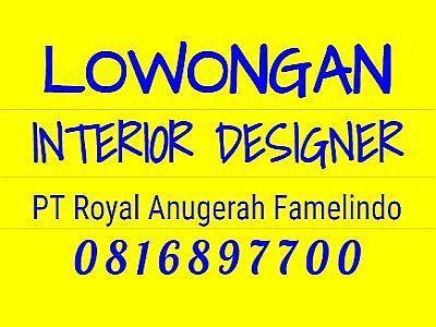 Foto: Lowongan Kerja Interior Designer