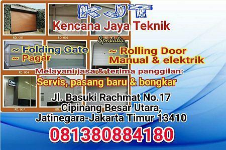 Foto: Tukang Service Rolling Door Paling Termurah