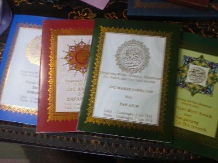 Foto: Cetak Buku Yasin, Cetak Buku Yasin Murah