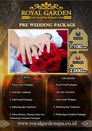 Foto: Pre Wedding Package Treatment Royal Garden Spa