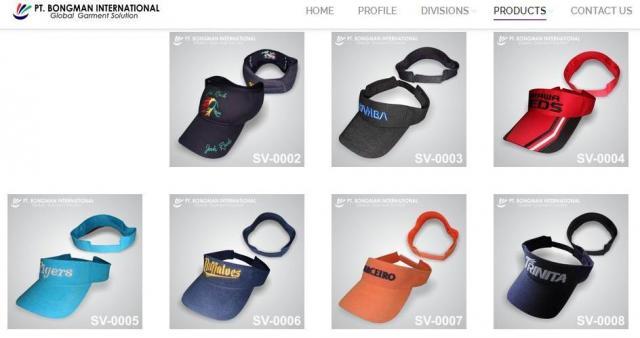 Foto: Pabrik Topi Bongman Menerima Pesanan Topi Promosi Kualitas Premium