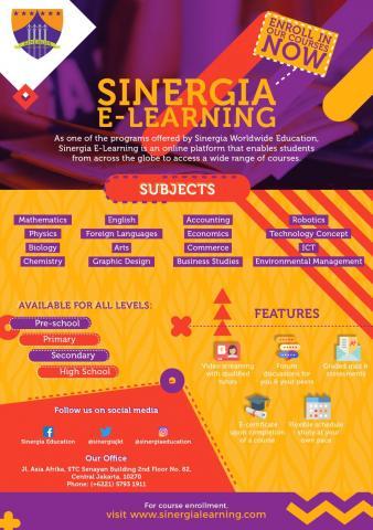 Foto: Open Registration Sinergia E-Learning