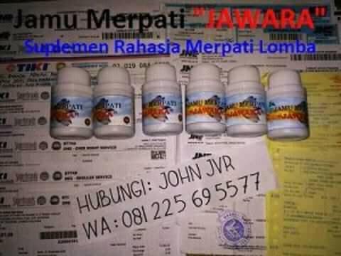 Foto: Jamu Merpati Jawara