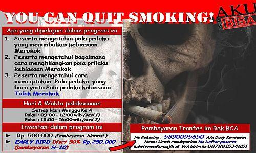 Foto: Cara Mudah Berhenti Merokok