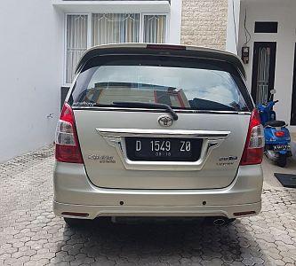 Foto: Dijual Toyota Innova G Luxury A/T 2013 Silver