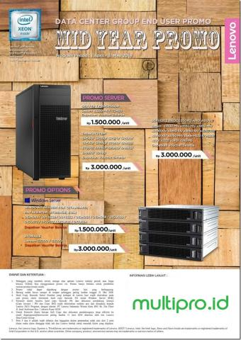 Foto: Lenovo Server Promo – Mid Year Promo