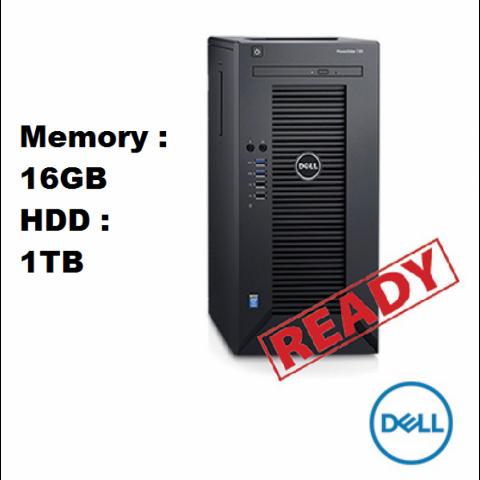 Foto: Promo Menyambut Ramadhan 2018 Dell Poweredge T30 Microtower T30 E3-1225 V5 3.3Ghz