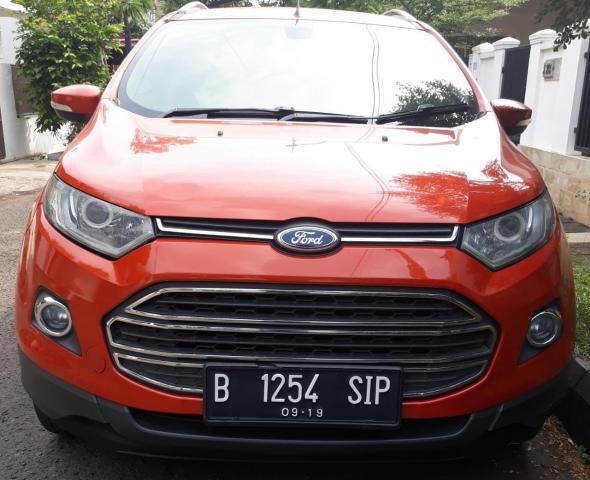 Foto: Dijual Ford Ecosport Titanium 2014 Matic Orange